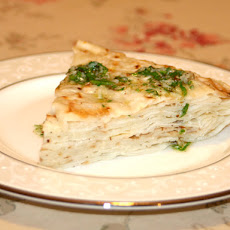 Macedonian Crepes With Garlic