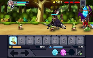Screenshot of 다크쉴드
