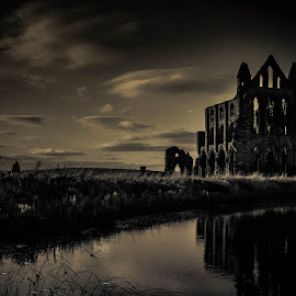 Whitby Abbey by Paul Husband - Buildings & Architecture Decaying & Abandoned