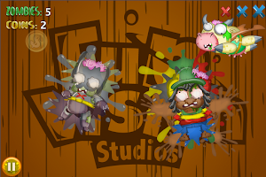 Screenshot of Jelly Zombie Smash