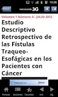 Screenshot of Oncologia3G