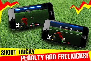 Screenshot of Soccer: Football Penalty Kick