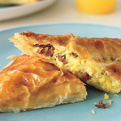 Sausage, Egg and Cheese Turnovers