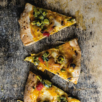Pizza del Papa (Butternut Squash and Smoked Mozzarella Pizza)