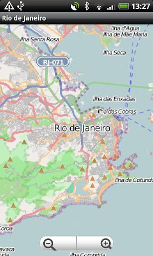Rio de Janeiro Street Map