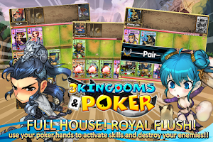 Screenshot of 3 Kingdoms and Poker