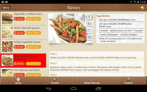 Golden Crown Flavors - screenshot