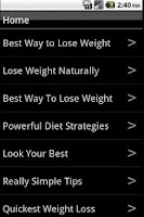 Screenshot of Best Way To Lose Weight