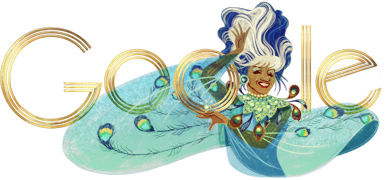 Google Doodle Celia Cruz's 88th Birthday