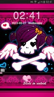 Screenshot of GO Locker Theme Pink Emo