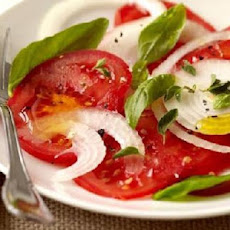 Fresh Tomato-Basil Salad/Weight Watchers