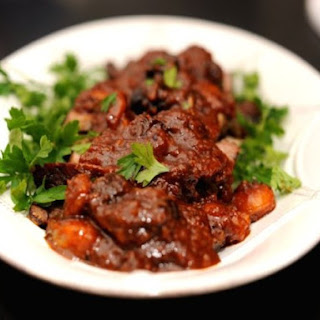 Sweet & Sour Brisket with Pomegranate Molasses and Dried Fruit