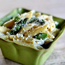 Penne with Ricotta and Asparagus