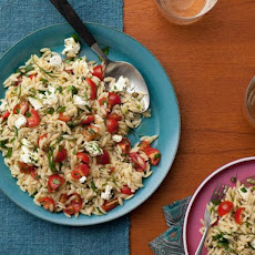 Toasted Orzo Salad
