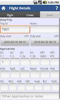 Screenshot of intelliPilot - Pilot LogBook