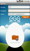 Screenshot of EggPlug