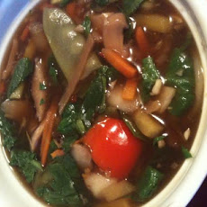 Marmie's Delicious Asain Flavor, Low Cal, Low Fat Vegetable Soup