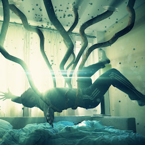 ABDUCTED BY THE WALLS by Lux Aeterna - Digital Art People (  )