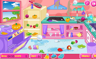 Screenshot of Kitchen restaurant cleanup