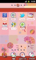 Screenshot of HELLO KITTY Theme55