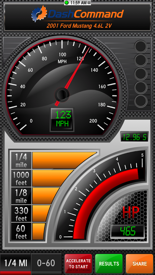 DashCommand (OBD ELM App) Screenshot 3