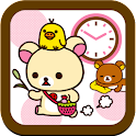 Rilakkuma Clock Widget 2 icon