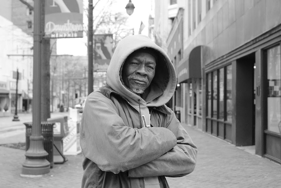 Downtown Memphis by Paul Hopkins - Black & White Street & Candid ( Travel, People, Lifestyle, Culture,  )