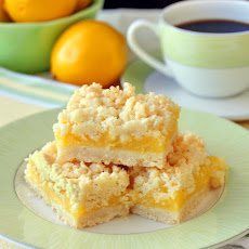 Lemon Coconut Crumble Bars