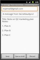 Screenshot of SecretVaultpro