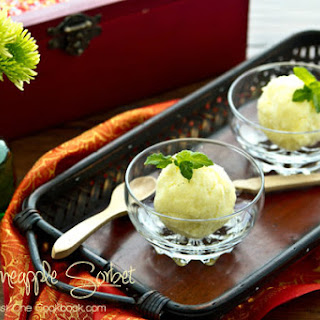 Pineapple Lime Sorbet Recipes