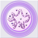 Crazy Home Purple Jewels icon