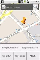 Screenshot of PhotoGeolocator