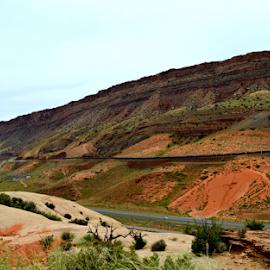 by Becky Holmes - Landscapes Deserts ( hillside, desert, landscape, landscapes, deserts )