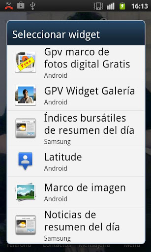 GPV Widget Gallery