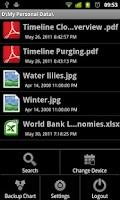 Screenshot of Timeline Cloud