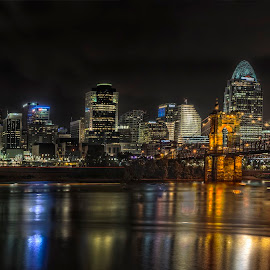 A day in Cincinnati by Henry Chao - City,  Street & Park  Street Scenes ( urban landscapes, lifestyle, night, cityscape, nikon, city, Urban, City, Lifestyle )