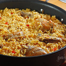 Arroz Con Pollo, Lightened Up