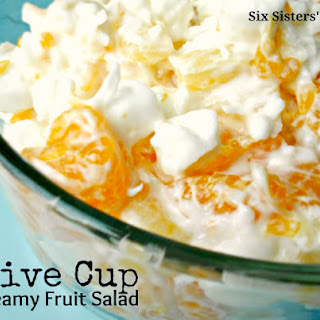 Grandma's Five Cup Creamy Fruit Salad