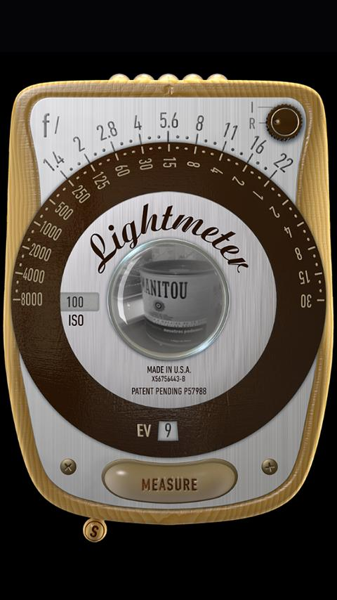 LightMeter (noAds) Screenshot 1