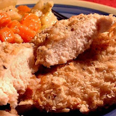 Tortilla/Parmesan-Crusted Chicken for Two