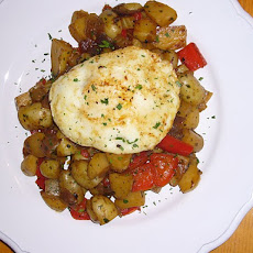 Vegetable Hash & Fried Egg
