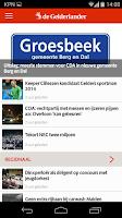 Screenshot of De Gelderlander nieuws