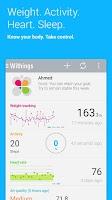 Screenshot of Withings Health Mate