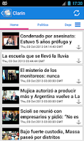 Screenshot of Argentina Noticias
