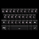 GO Keyboard Black/White Theme icon