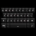 GO Keyboard Black/White Theme icon
