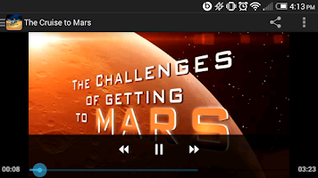 Screenshot of NASA Be A Martian