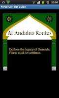 Screenshot of Al Andalus Routes