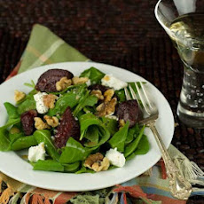 Gluten Free Quick Roasted Beet Salad