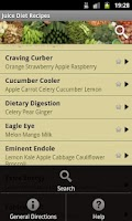 Screenshot of Juice Diet Recipes
